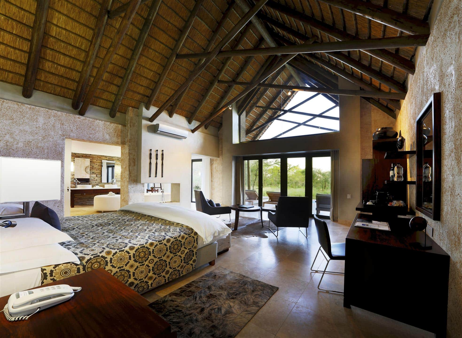 Kapama Southern Camp suite