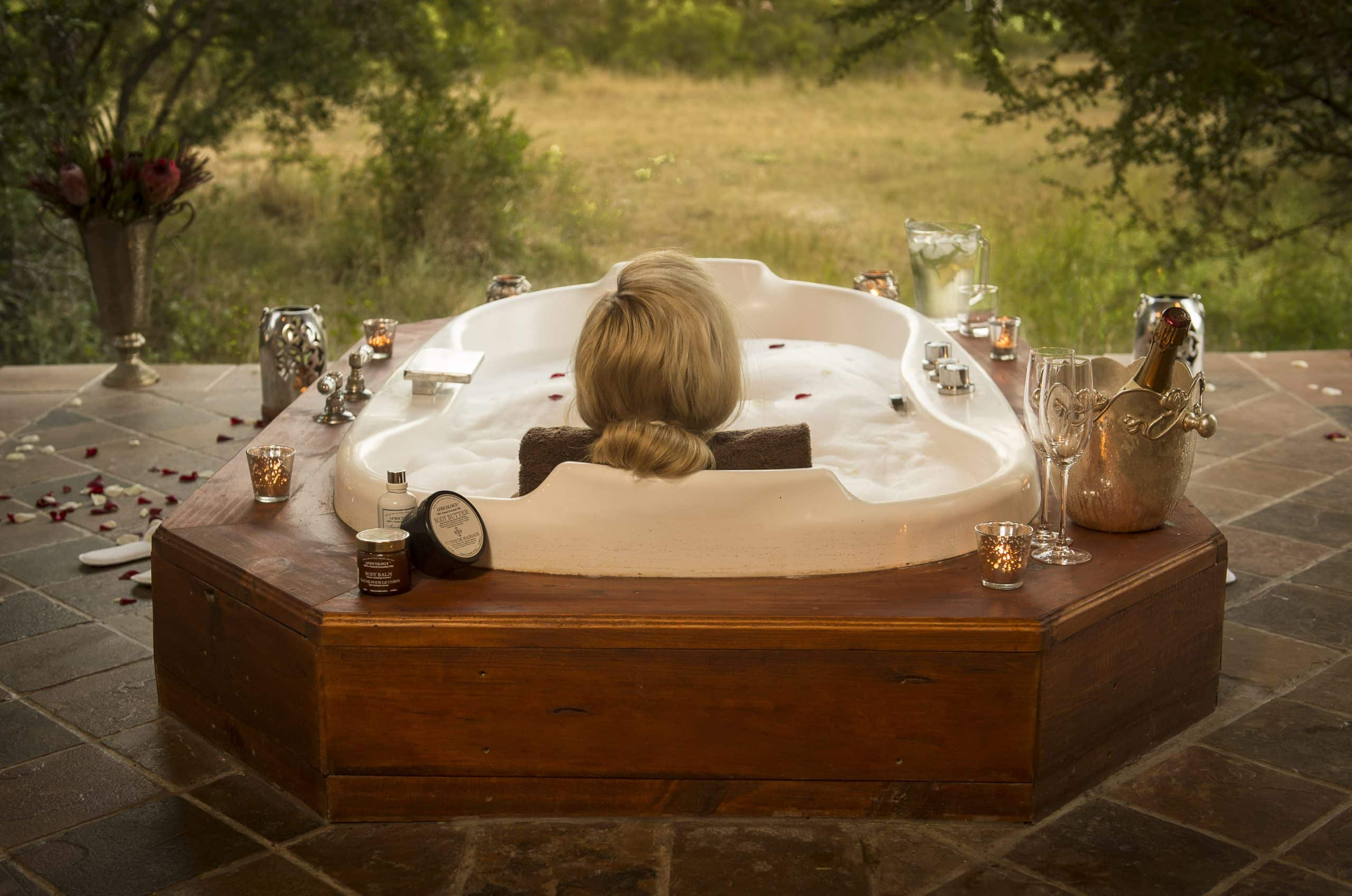 Tintswalo Safari Lodge spa