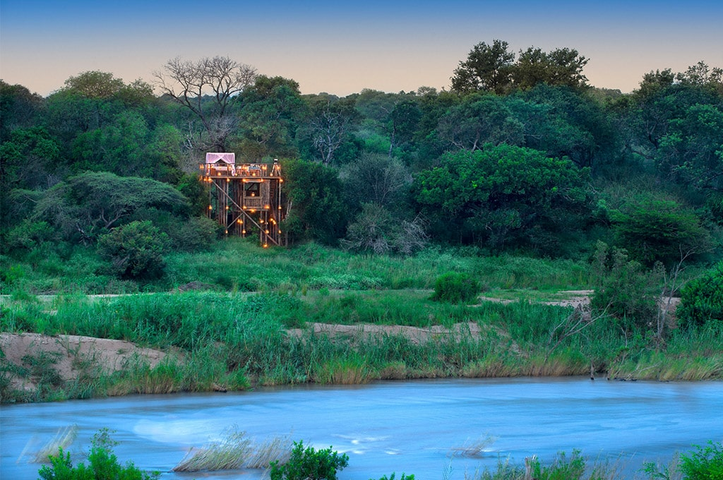 Tinteleti treehouse, Lion Sands Kruger
