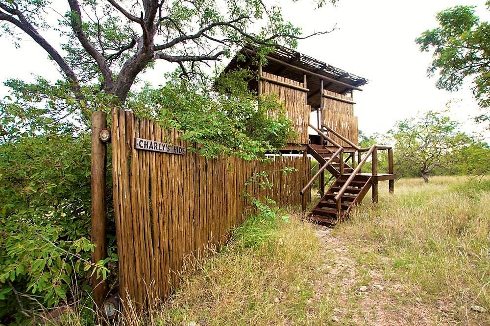 Charly's hide at Naledi