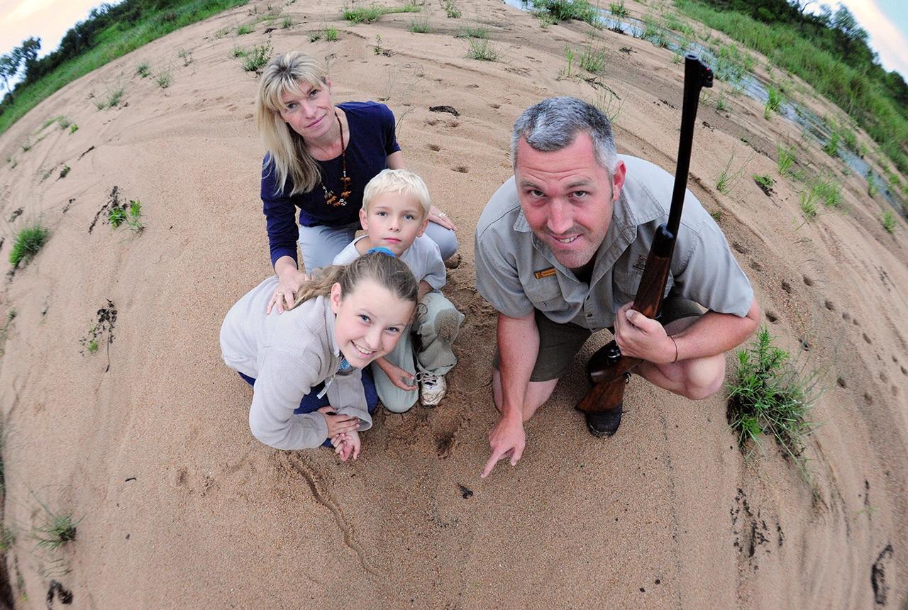 Kids on safari at Fitzpatricks
