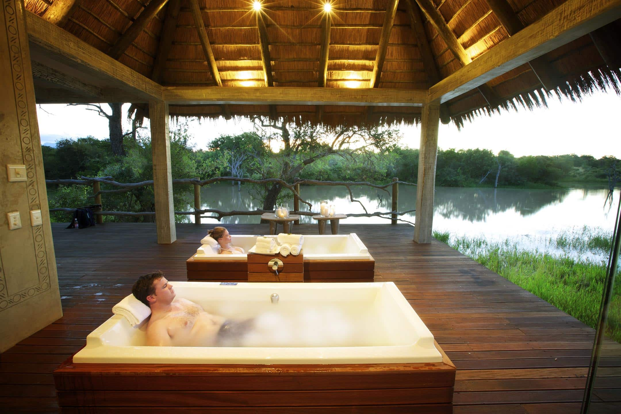 Wellness centre at Kapama River Lodge