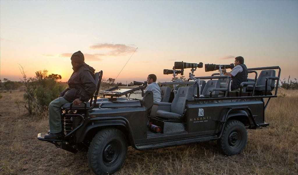 Makanyi photographic safari vehicle