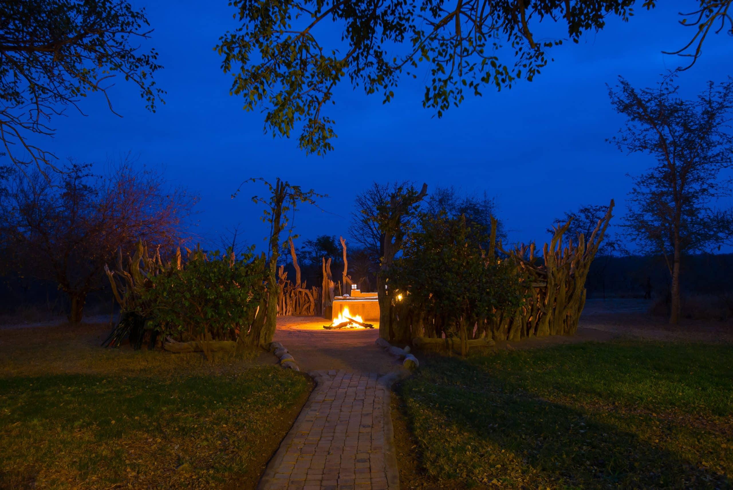 Baobab Ridge fire kraal
