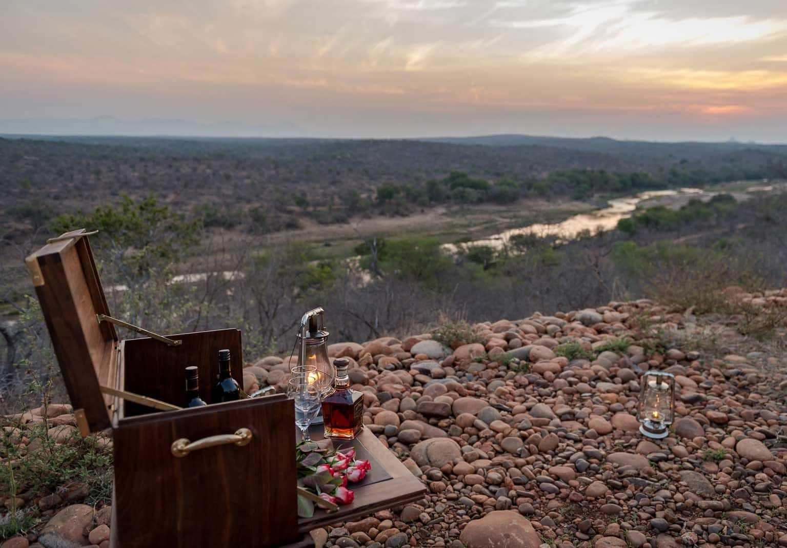 Africa on Foot sundowners