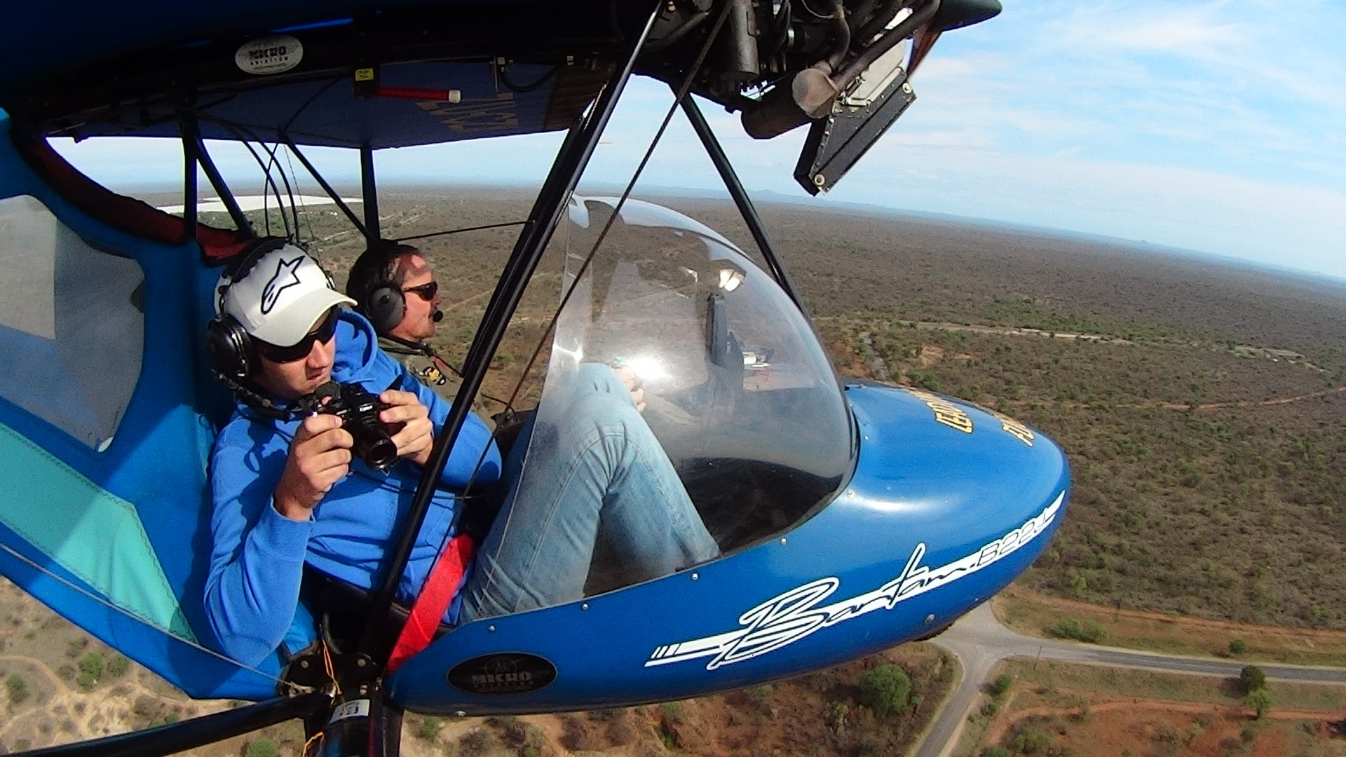Photography from Kruger microlight
