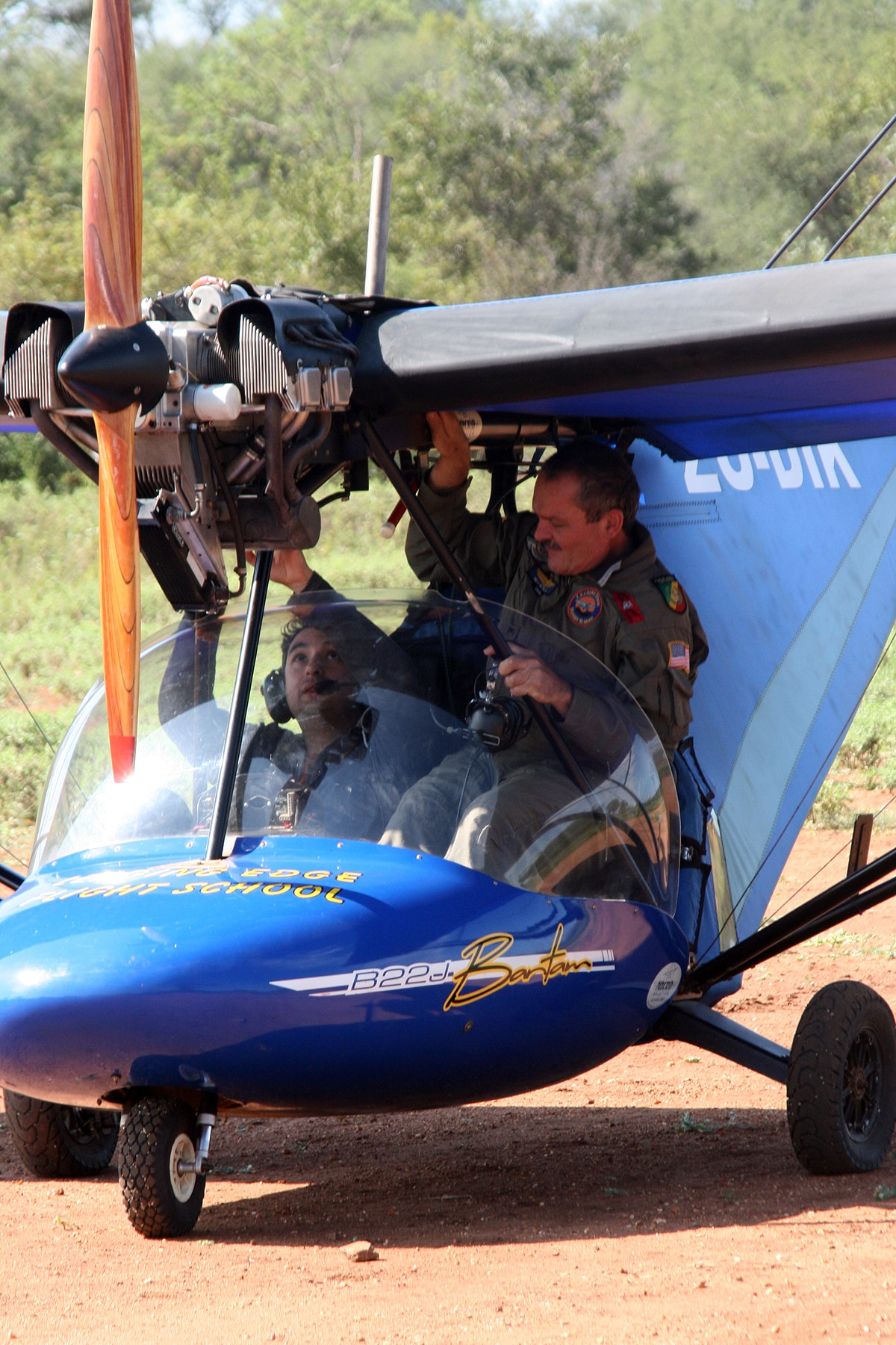 Learn to fly a microlight in Hoedspruit