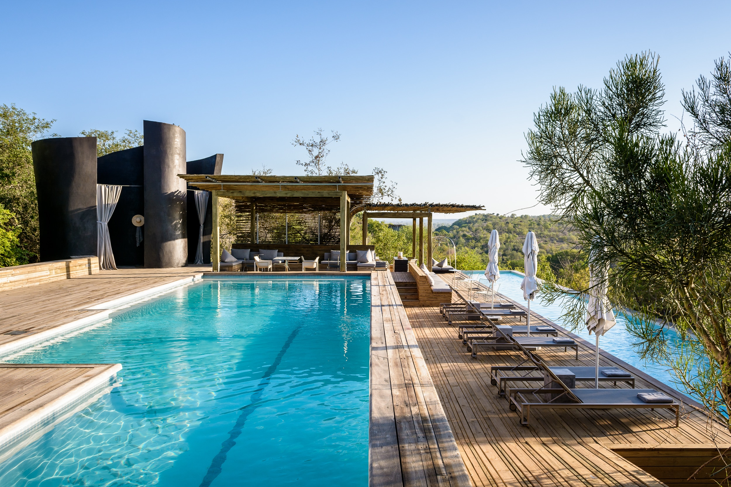 Pools at Singita Lebombo