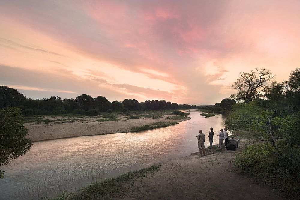 Dulini River Lodge sundowners