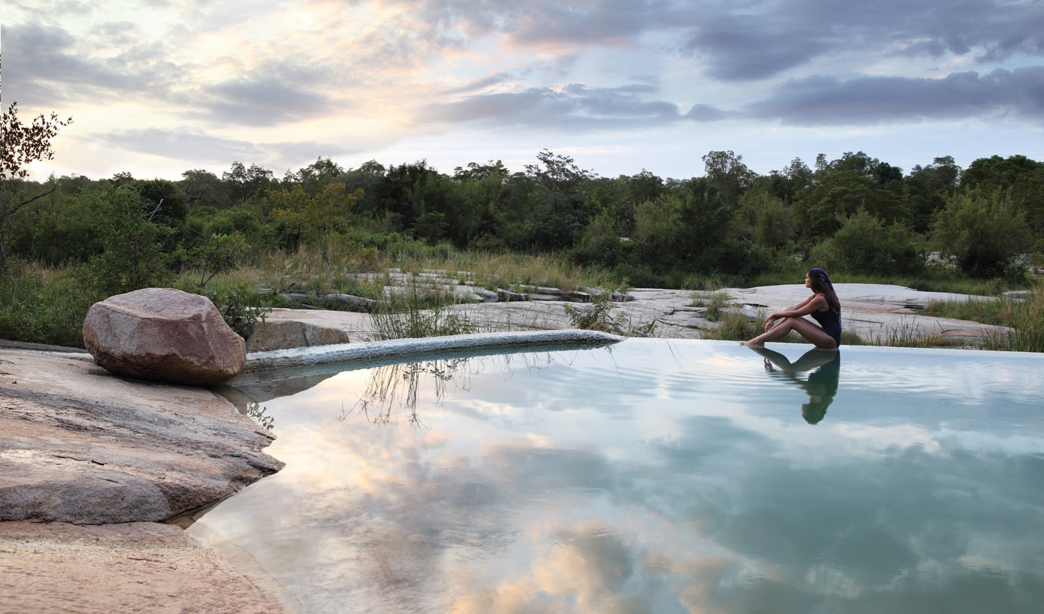 Londolozi Granite suites pool