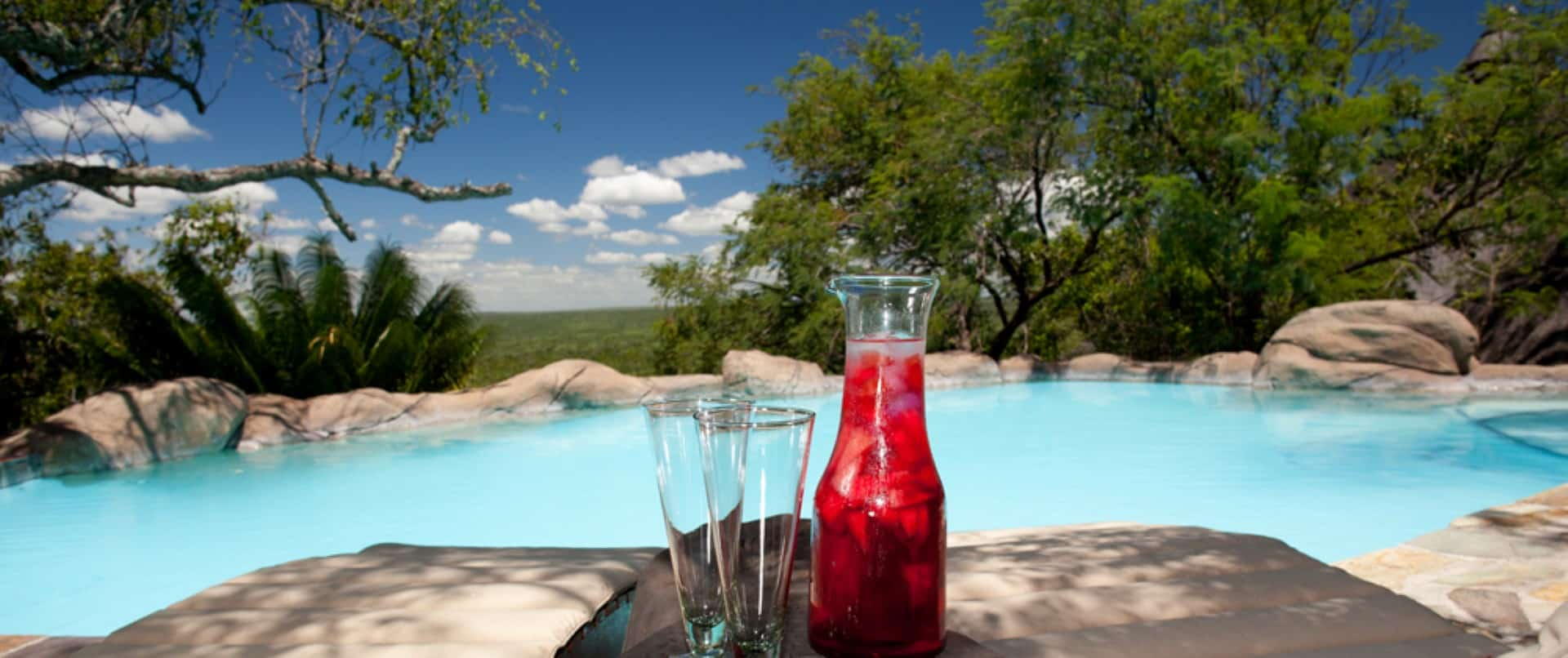 Ulusaba Rock Lodge swimming pool