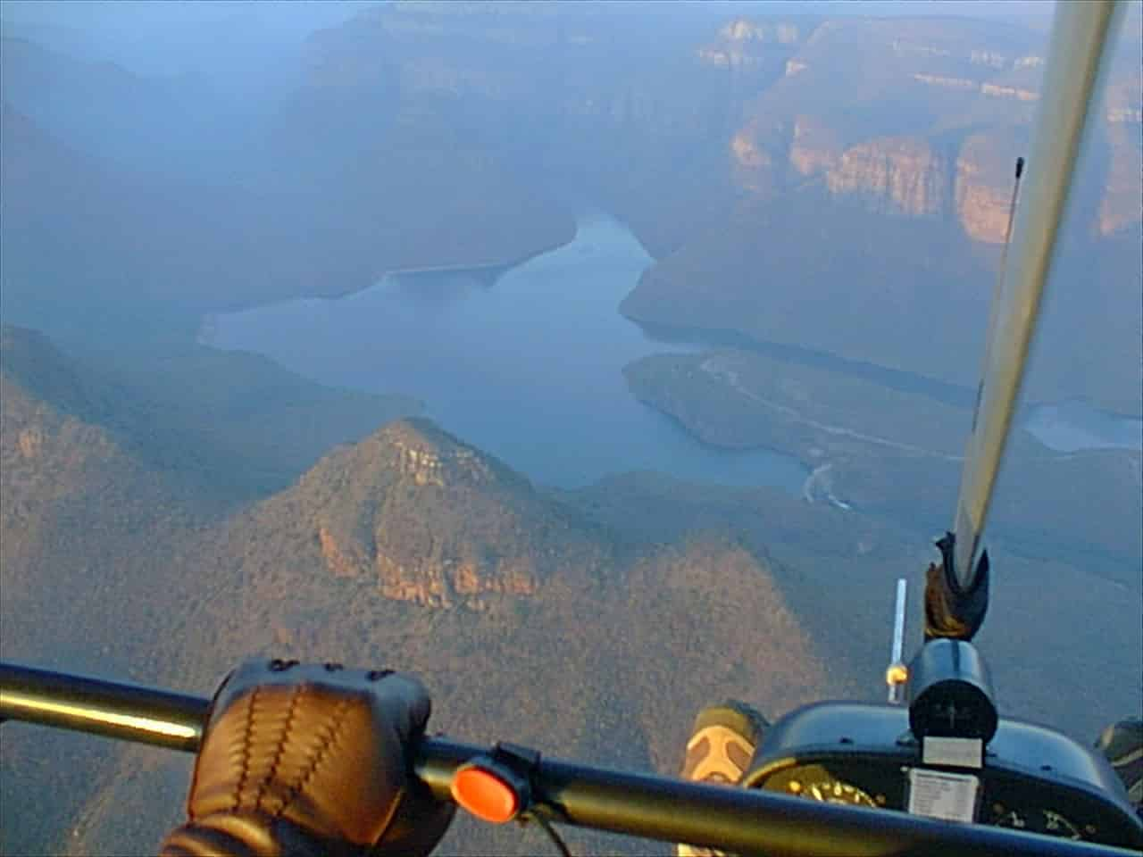 Microlighting Blyde Canyon