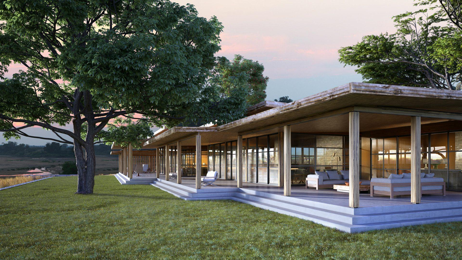 Tengile River Lodge exterior front