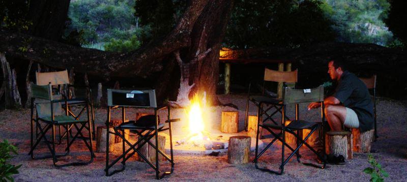 Timbavati campfire