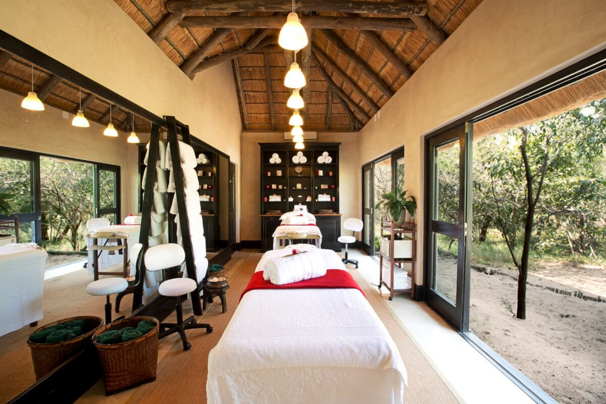 Treatment room at Royal Malewane