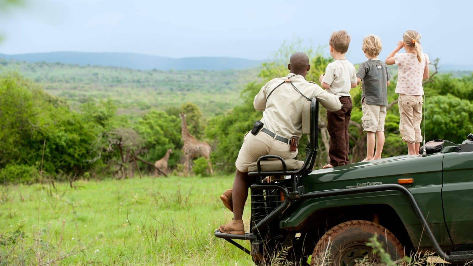 WILDchild game drive at Phinda