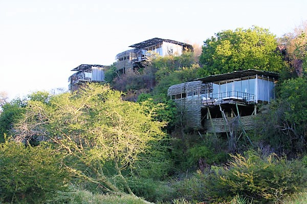 Simple elegant architecture at Singita Lebombo
